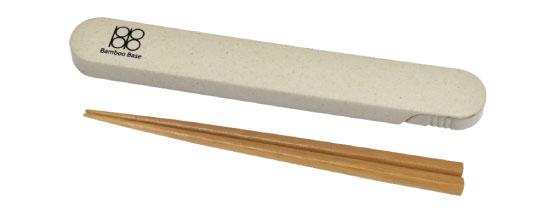 竹箸 箸箱セット BK